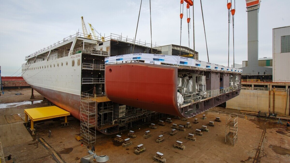 Viking Mars will be delivered in 2022 (Image: Fincantieri Group)
