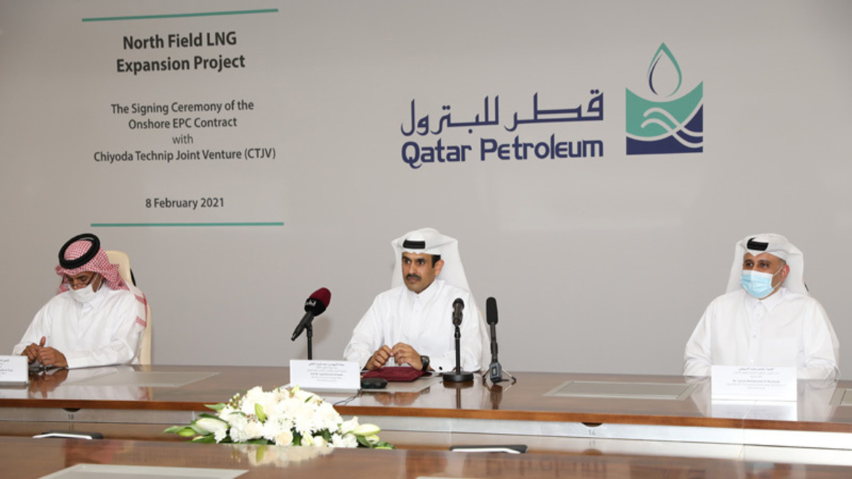 Saad Sherida al-Kaabi (Qatar Petroleum): One of the most important environmental elements of the NFE project is its CO2 capture and sequestration system (Image: Qatar Petroleum)