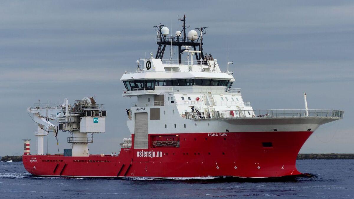 2009-built Edda Sun is chartered to Fugro until Q4 2021 (source: Ostensjo)