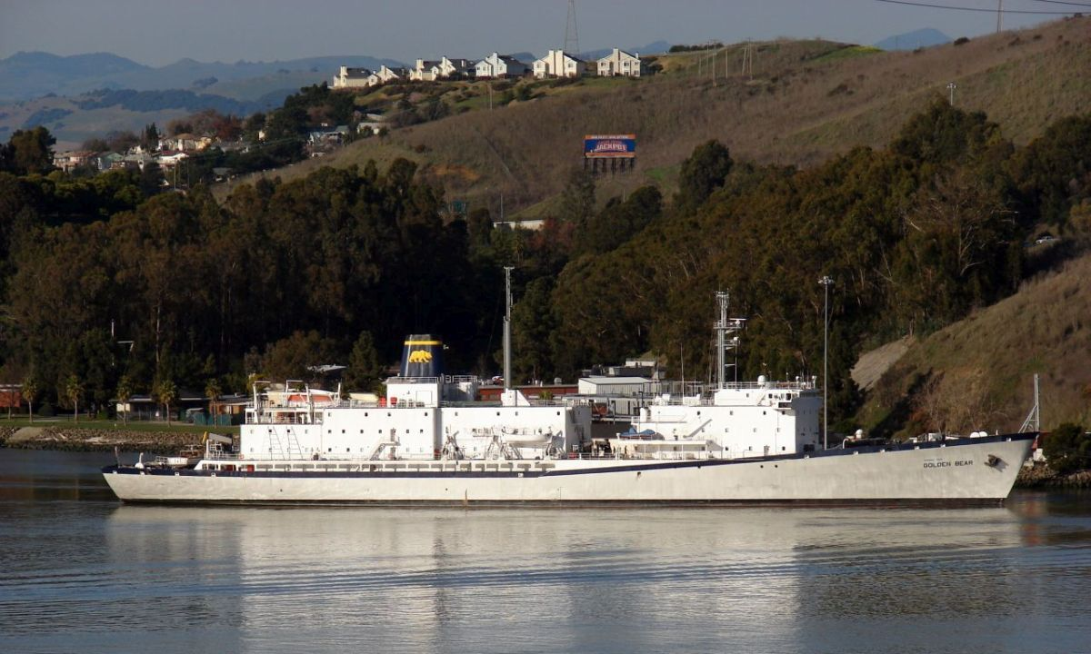 Training ship Golden Bear is part of Cal Maritime's BWMS testing facility (image: Cal Maritime)
