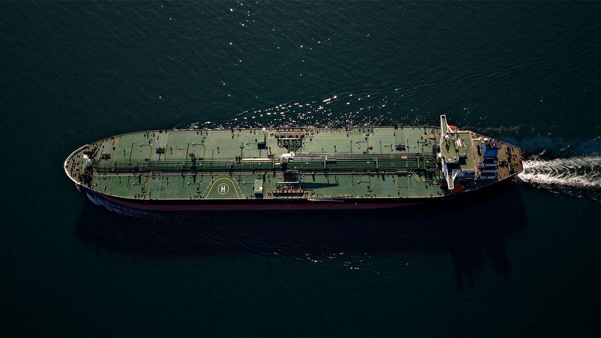 Gungen Suezmax tanker with Marlink Fleet Xpress on board