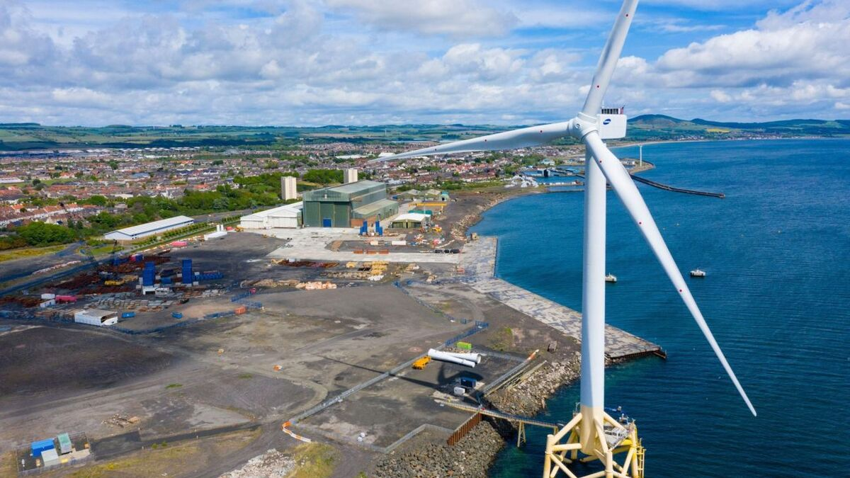 Scottish yard reaps reward from domestic offshore wind project