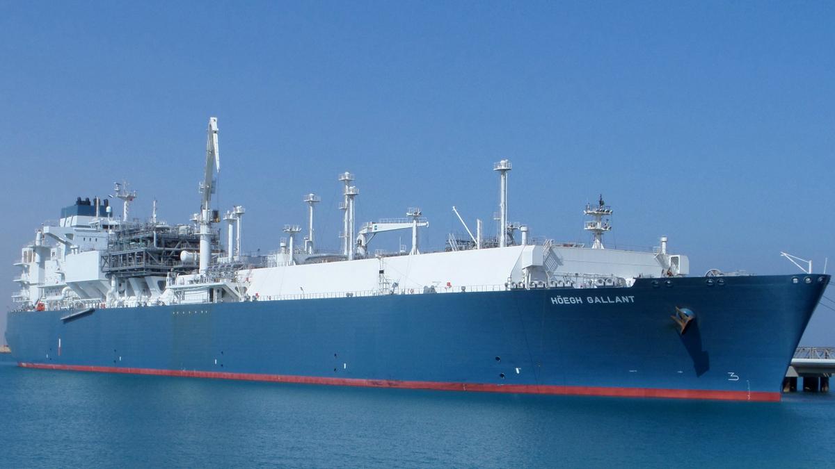 Serving as an FSRU, 2014-built Höegh Gallant has a regas capacity of 500 mmscf/day (source: Höegh LNG)