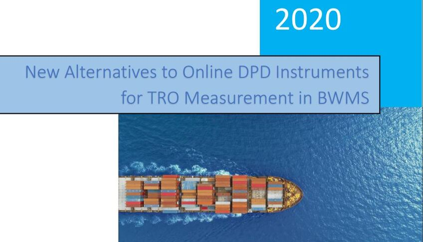 New Alternatives to Online DPD Instruments for TRO Measurement in BWMS