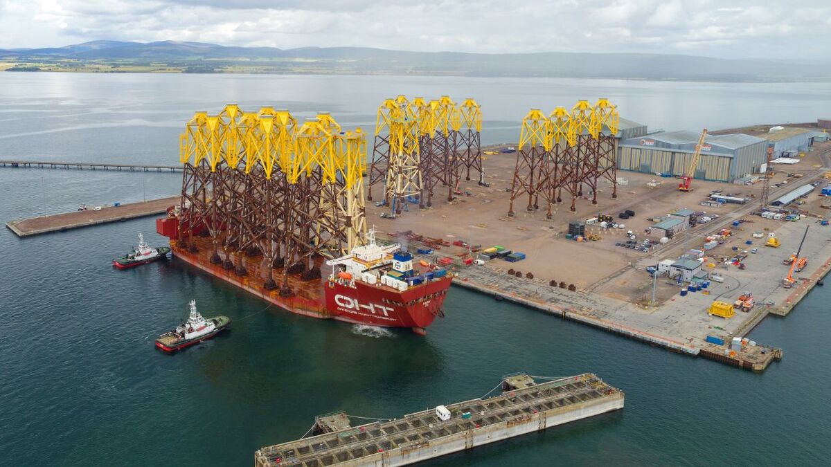 Port of Nigg benefits from heavy load bearing capacity and a deepwater quayside