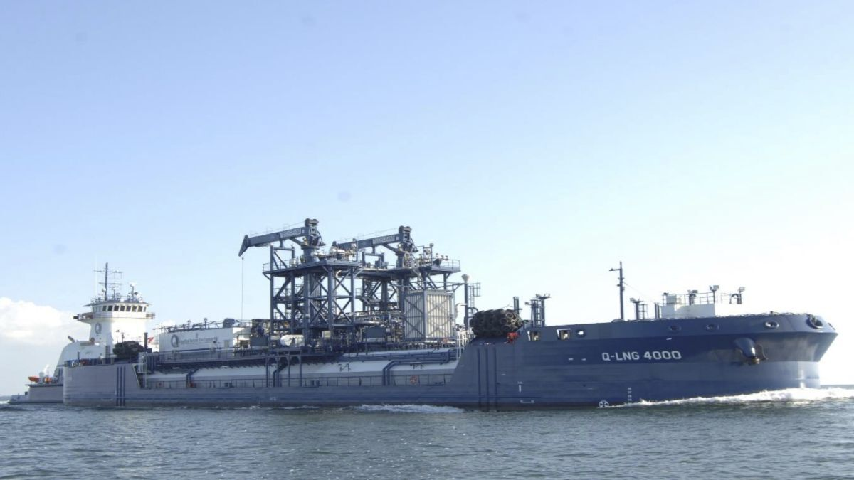 Owned by Q-LNG and chartered by Shell, Q-LNG 4000 is the world's first LNG ATB vessel (source: Q-LNG)