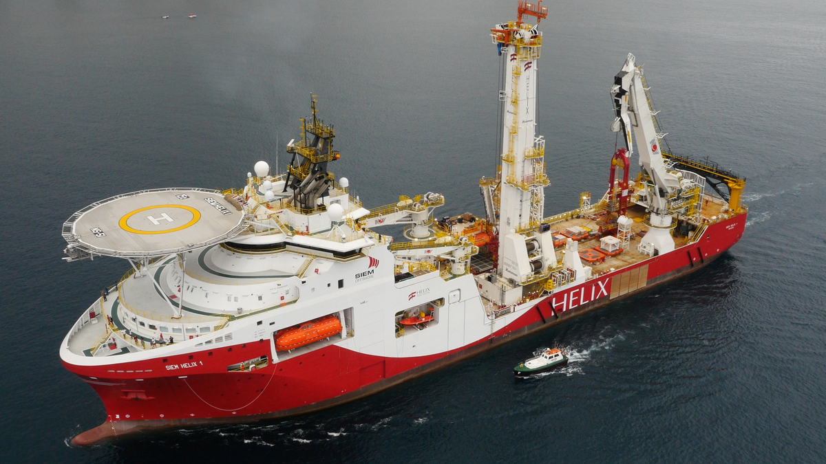 Siem Helix 1 - one of two Siem Offshore well intervention vessels covered by a Wärtsilä optimised maintenance agreement (© Siem Offshore)