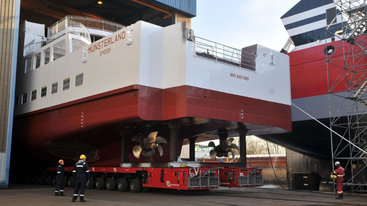 Newbuilds, repairs and retrofits – Niestern Sander shipyard does it all