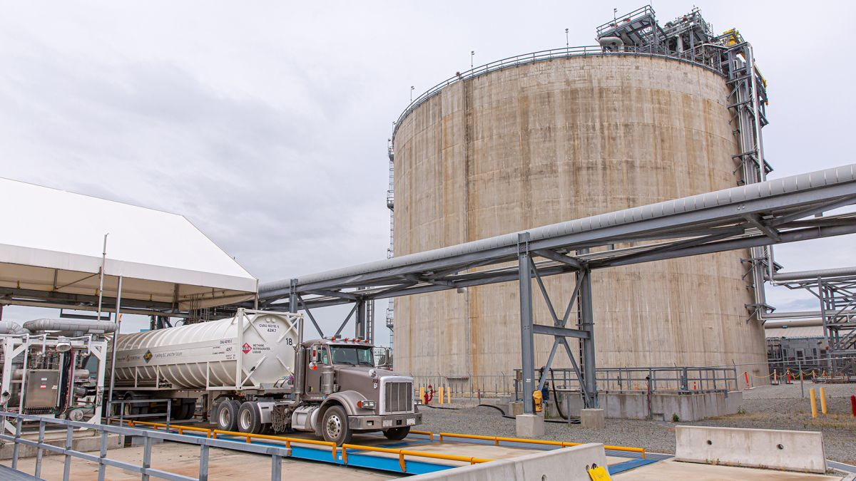 FortisBC is expanding the truck-loading capacity of Tilbury LNG facility (source: FortisBC)