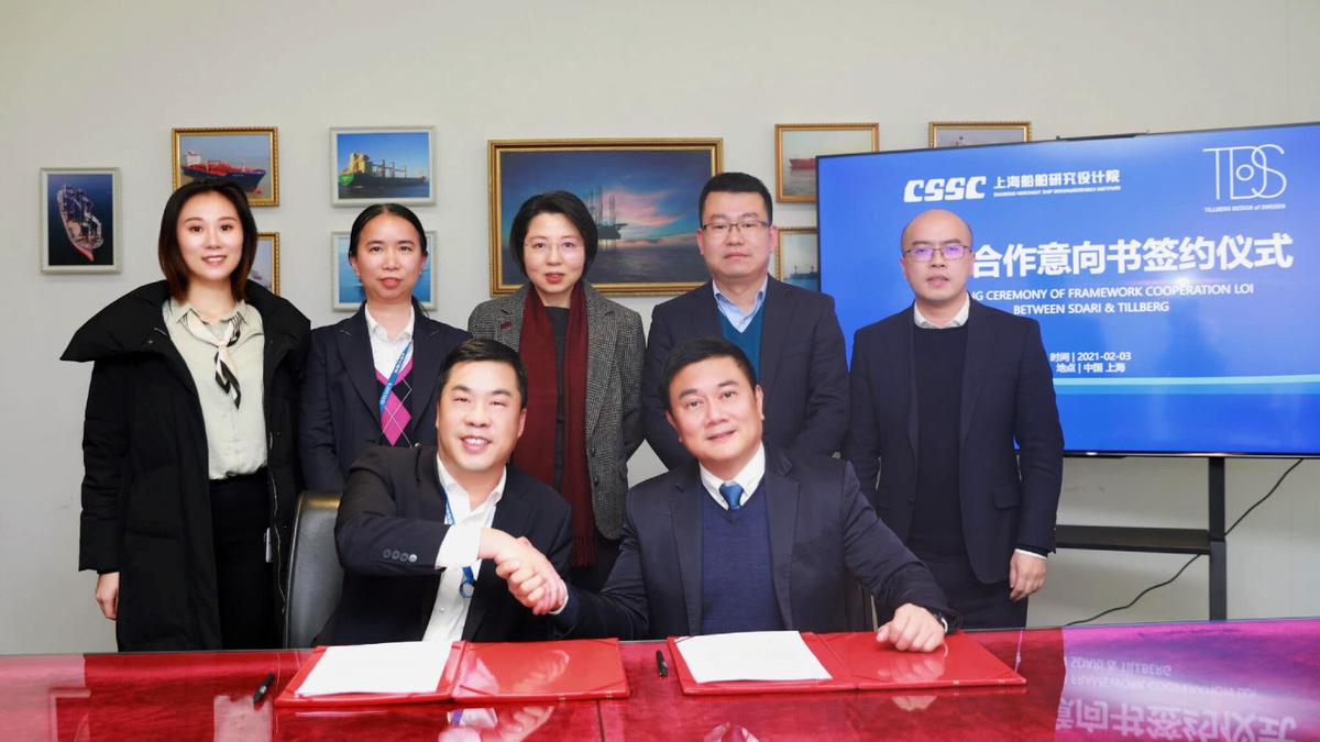 Tillberg Design of Sweden and SDARI will collaborate on Chinese passenger vessel design (source: TDoS)