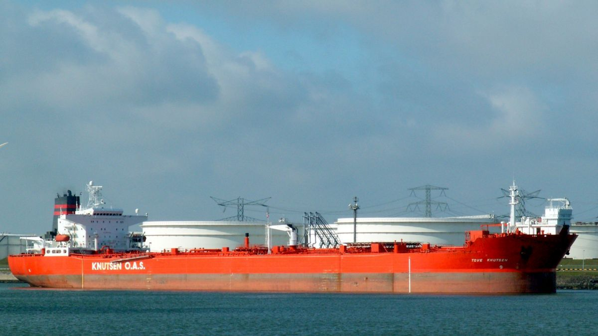 Hamworthy supplied the pump room system for shuttle tanker Tove Knutsen (source: WikiCommons)