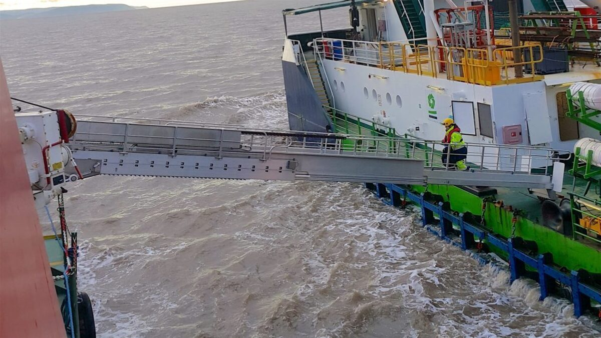 Undertun expects to see an increase in demand for gangways in the offshore sector (Image: Undertun)
