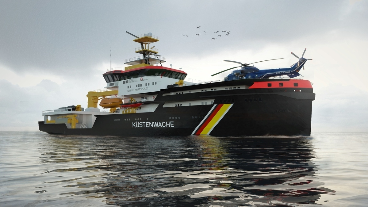 Høglund to supply fuel gas supply system for German Coast Guard vessels