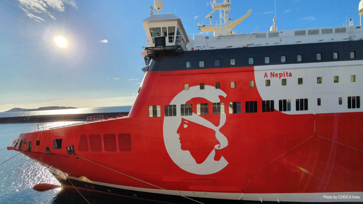Corisca Linea is overhauling several systems on its vessels to run a single software (Image: Corsica Linea)