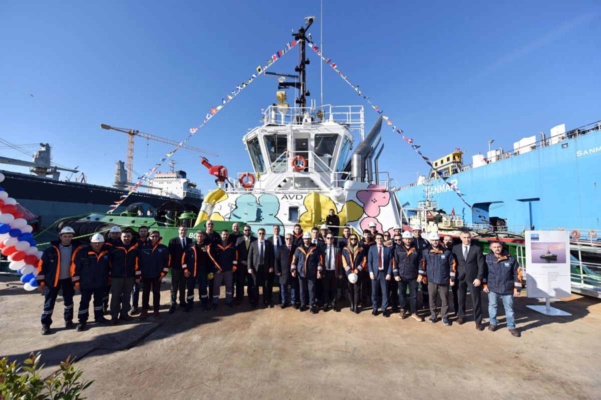 Sanmar Launches World's First Advanced Variable Drive (AVD™) Hydraulic Tugboat with Innovative Technology from Caterpillar Marine