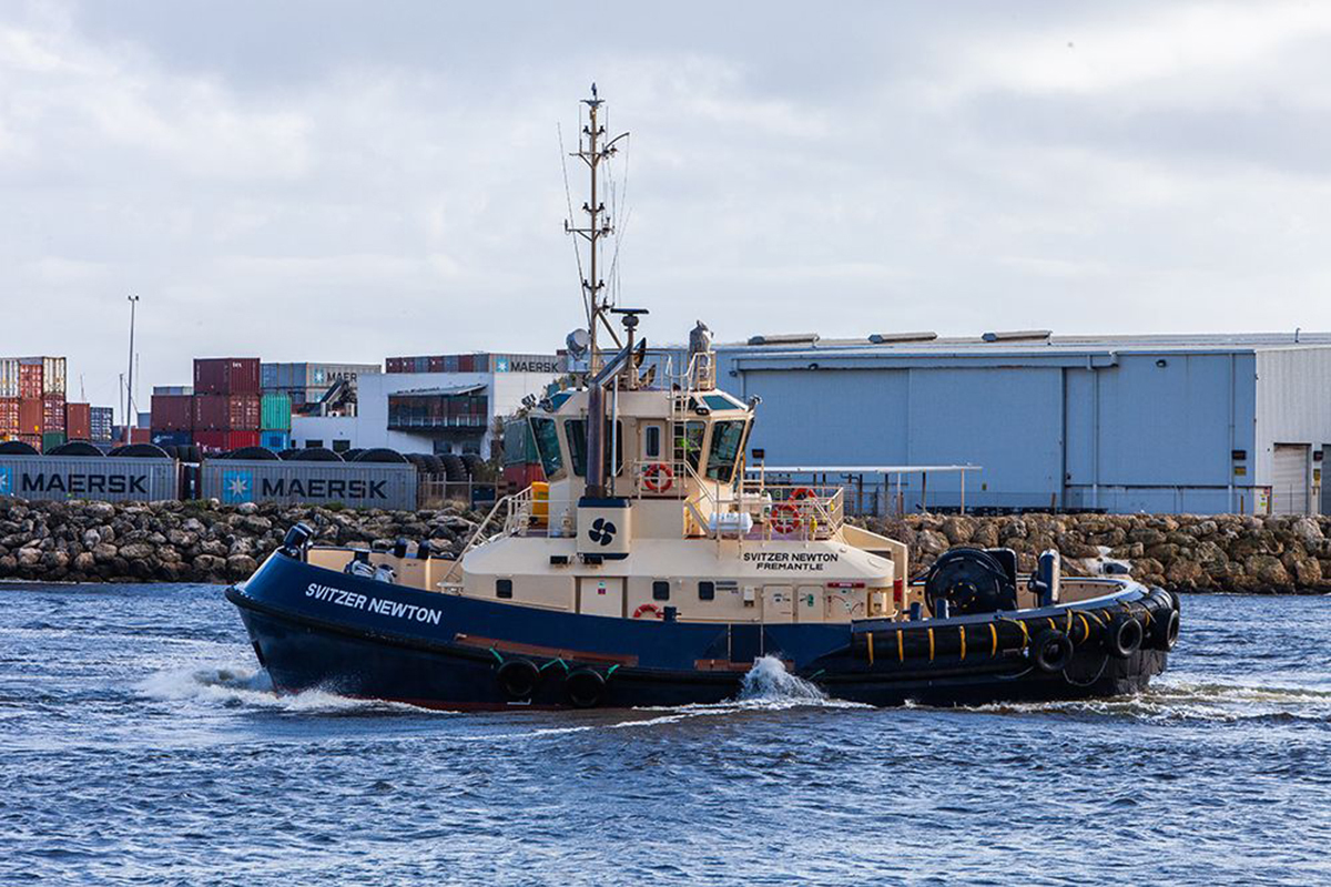 Svitzer and Caterpillar Marine Sign Global Services Agreement