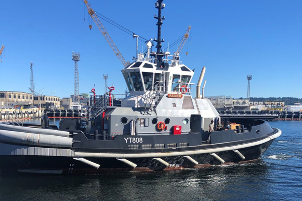 US Navy Modernises Tug Fleet with New YT 808 Tugs Powered by Cat® Marine Engines