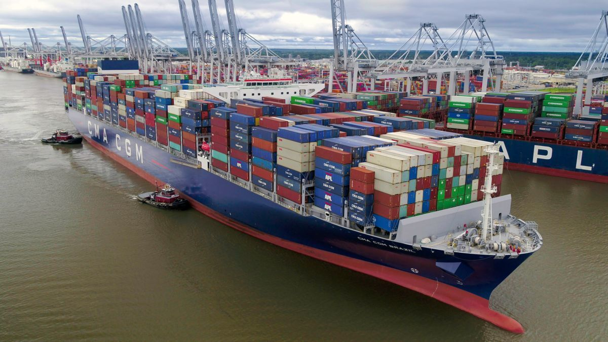 The Port of Savannah was one of the top performing US Atlantic coast ports in December (source: Georgia Ports)