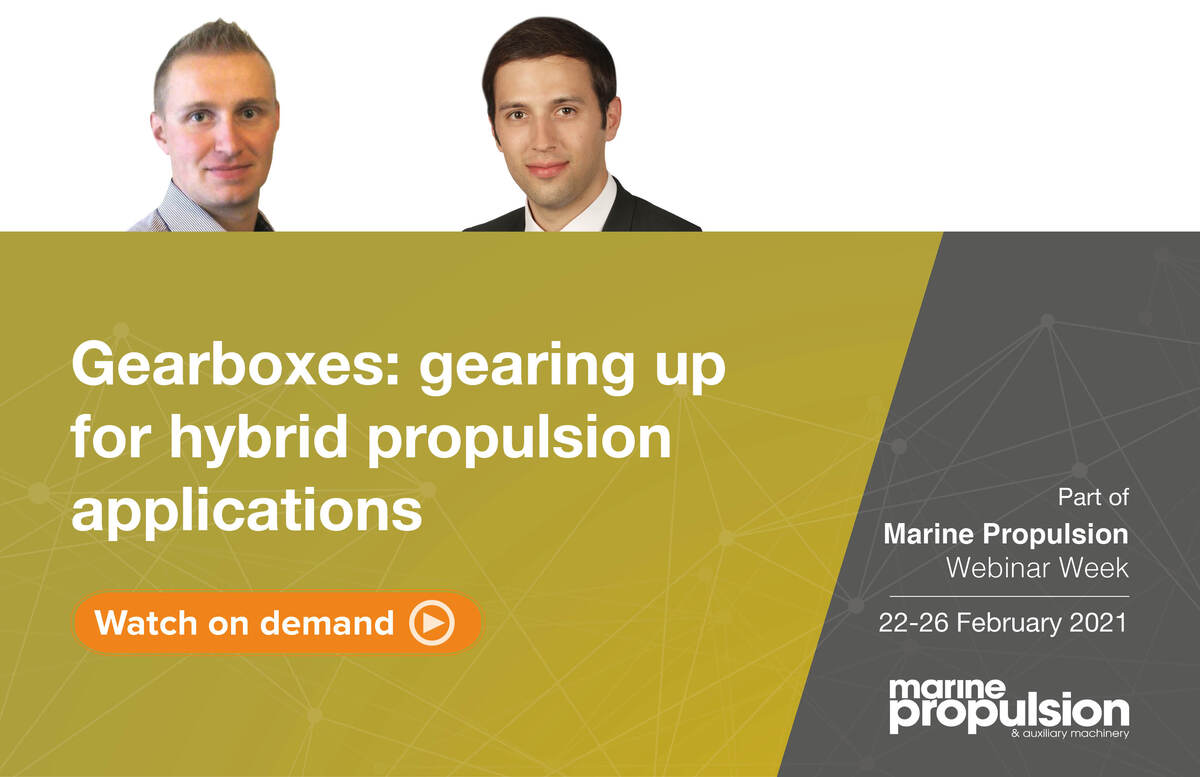 Gearboxes gearing up for hybrid propulsion applications webinar panel