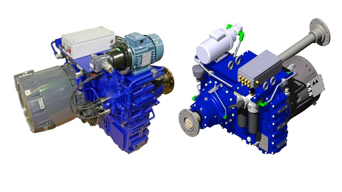 Gearboxes for hybrid propulsion