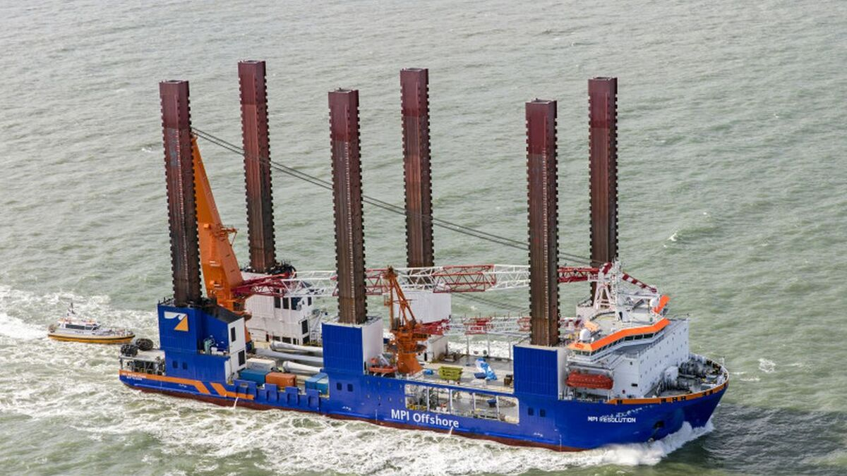 MPI Offshore, which has been part of Van Oord since 2018, will provide jack-up and lifting services to Vattenfall