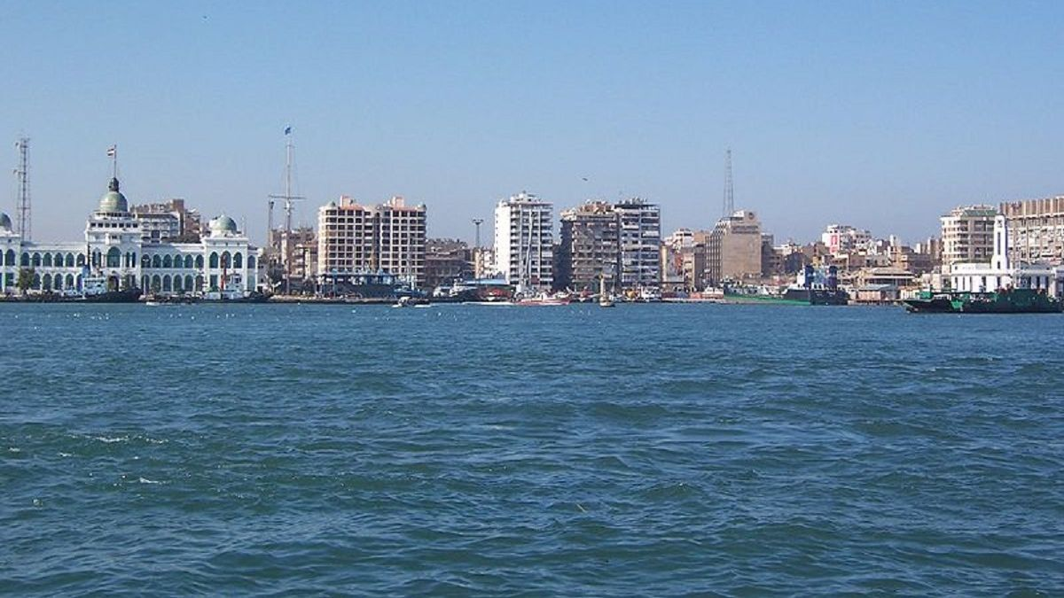 Manager reports Minerva Helen was at Port Said at the time of the Israeli oil spill (source: WikiCommons)