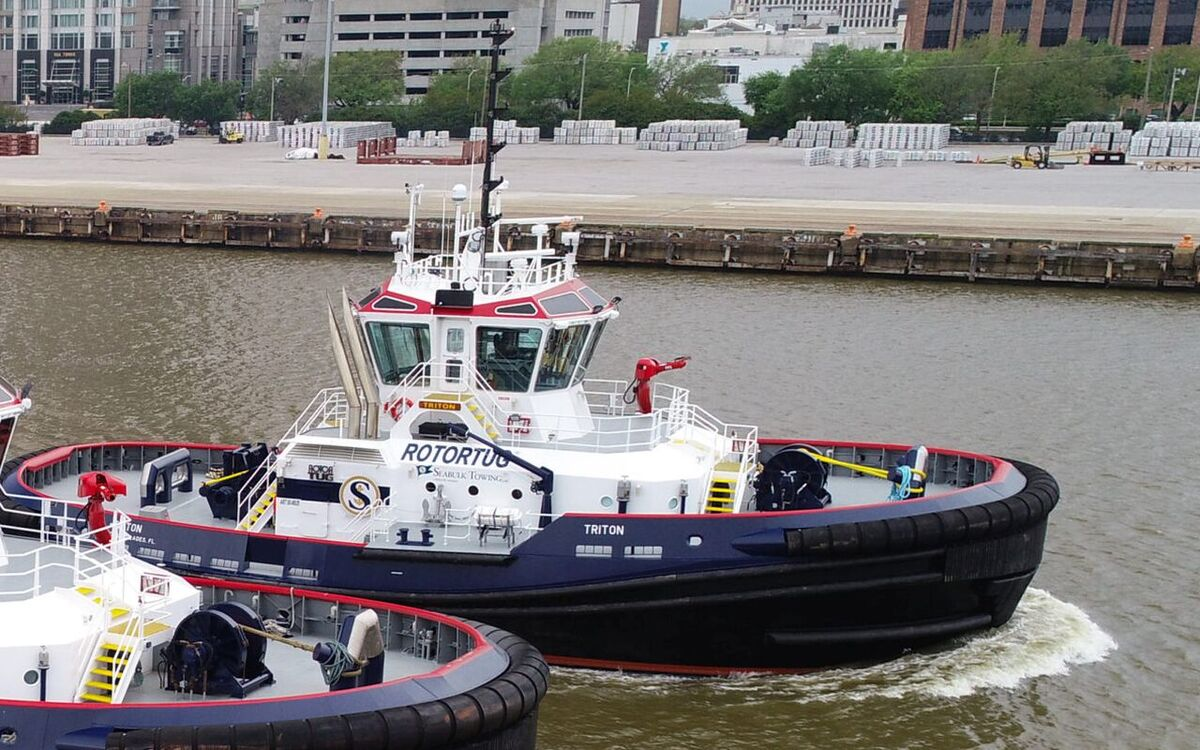 Seabulk Towing operates Rotortugs in US and Caribbean ports (source: Seacor)
