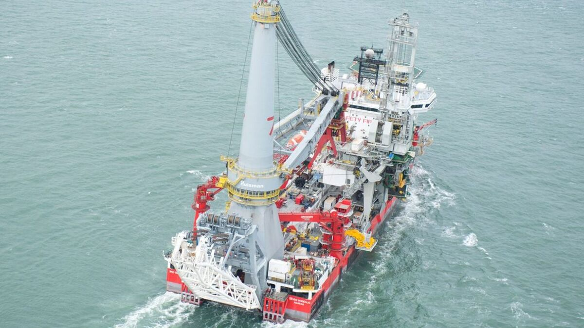 Seven Borealis has completed subsea construction work in Angola (source: Ulstein)