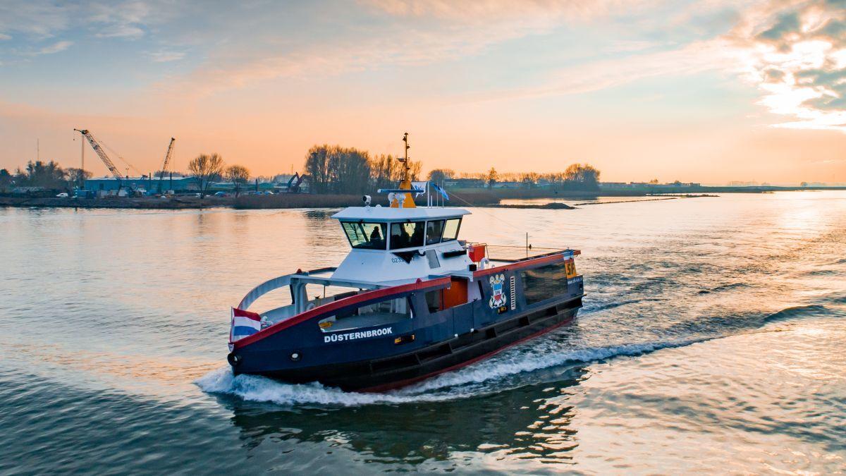 Düsternbrook will soon join the SFK fleet (source: Holland Shipyards Group)