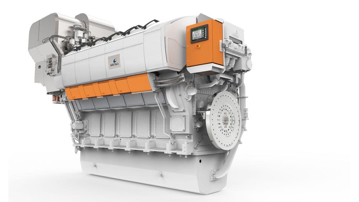 Wärtsilä's fuel-sipping W31 engines will power the Isle of Man's new flagship ferry (source: Wärtsilä)