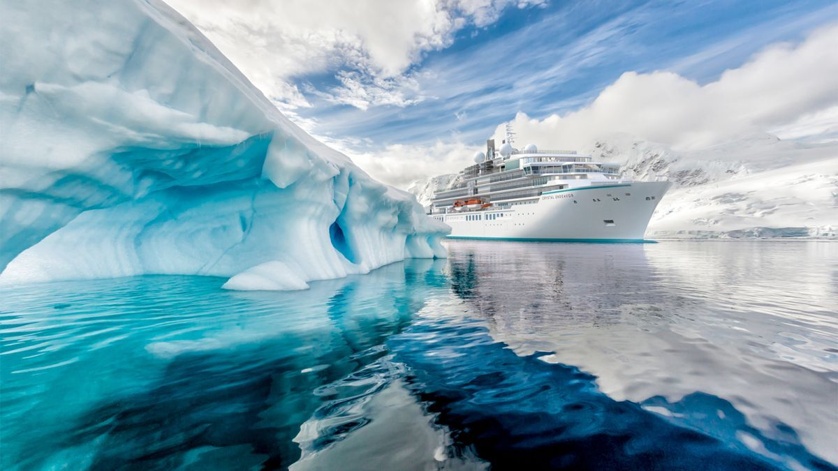 Luxury expedition ship takes the route less travelled