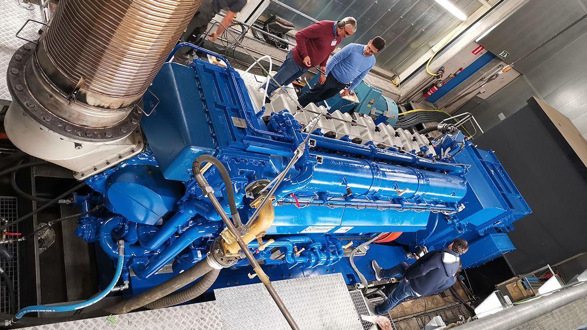 An ABC 8DZC engine (source: BELSPO)
