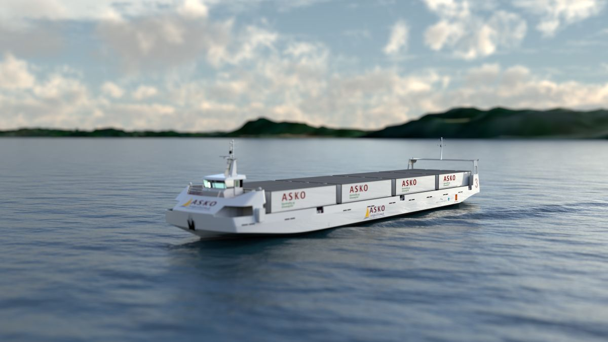 Asko vessel will run autonomously in Norway from 2022