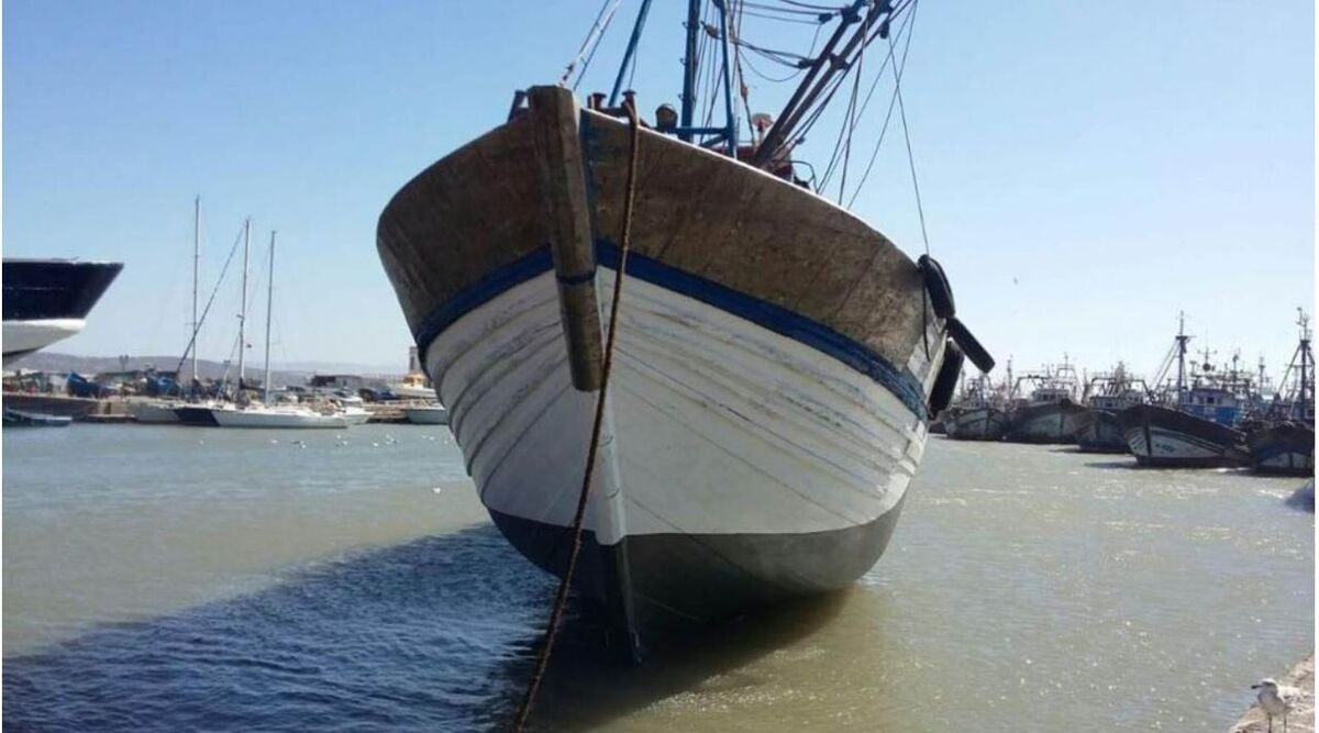 Fishing vessels in North Africa can use Iridium GMDSS communications (source: Marlink)