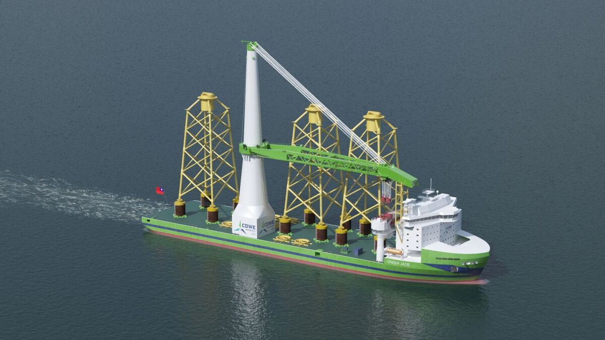 Green Jade already has a three-year backlog of projects to undertake once it enters service