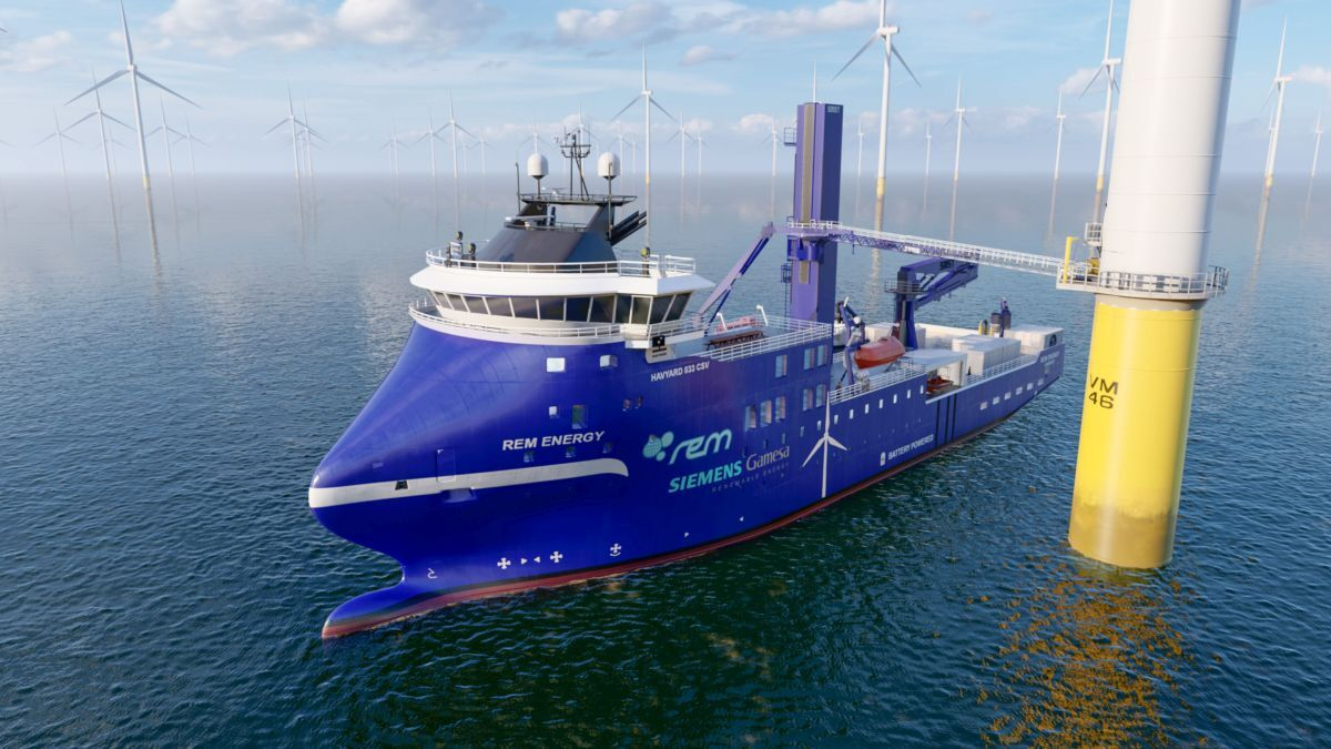 Rem Offshore is among the OSV owners transitioning into offshore wind, with its newbuild Rem Energy (source: Rem Offshore)