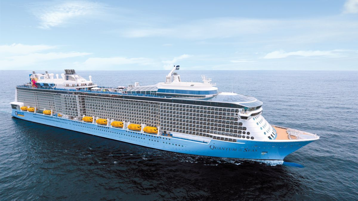 CruiseSafe procedures allowed for 50% load capacity on 4,905-passenger Quantum of the Seas (source: Royal Caribbean)