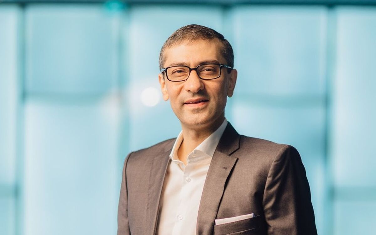 Rajeev Suri joins Inmarsat as chief executive (source: Inmarsat)