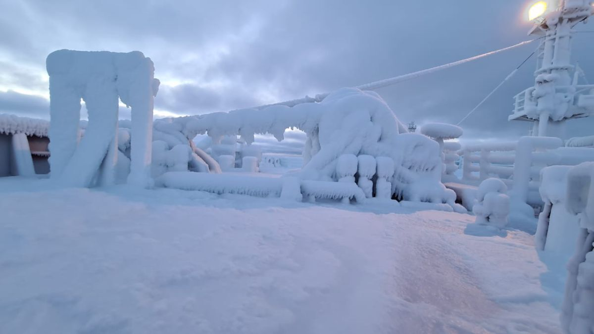 Ice needs to removed, as properties of metals change at very low temperatures (source: SCF)