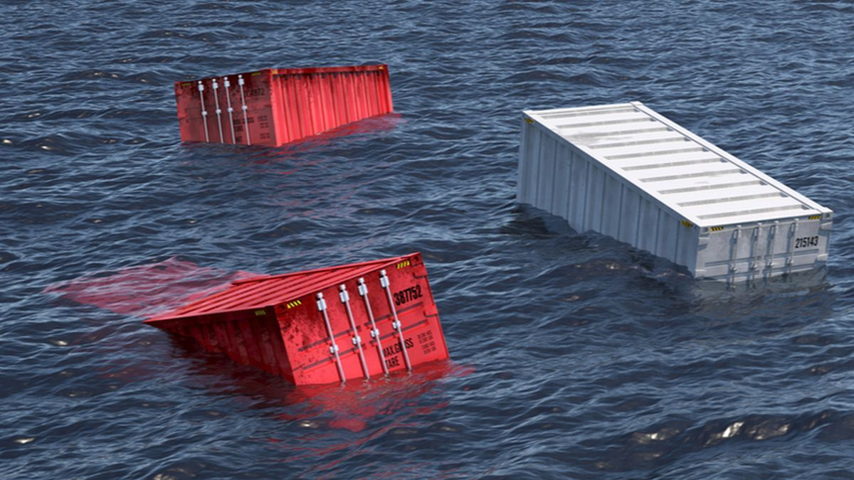 Containers are increasingly lost at sea through waves destabilising cargo stacks