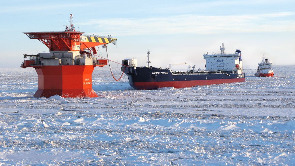 Shuttle tankers: coping with icing in Arctic waters