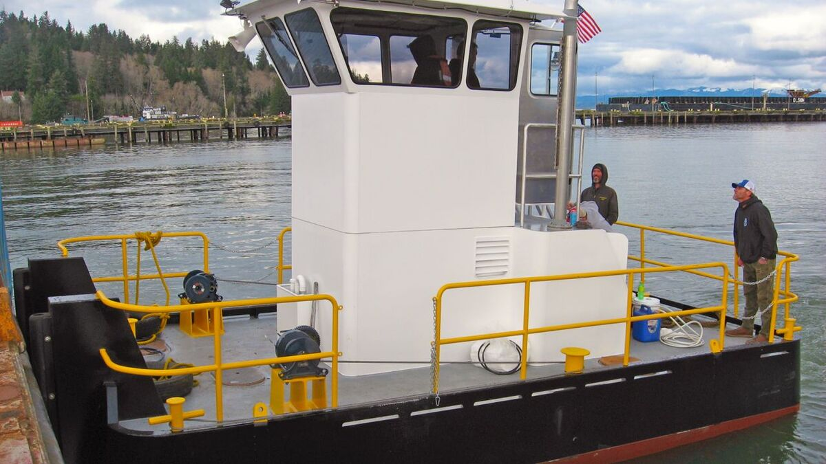 WCT tests a mini tug built for US Army Corps of Engineers (source: Cummins)