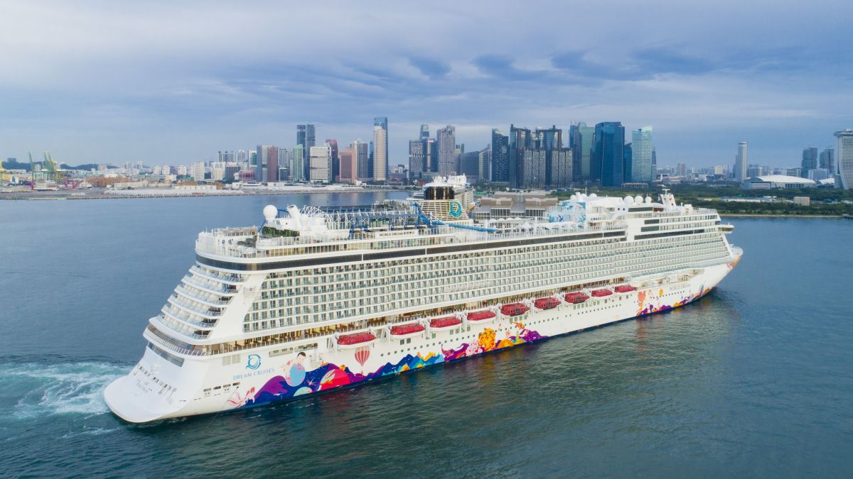 Dream Cruises receivedmore than6,000 bookings within five daysofthe first sailingsbeing announced forWorld Dream(source:Dream Cruises)