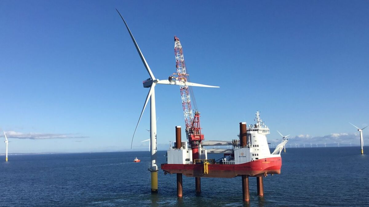 Ziton will use the vessel Wind Server and a service operation vessel for the Meerwind project