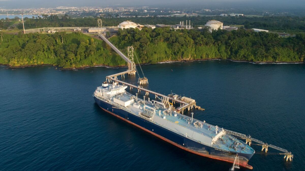 A pipeline allows gas from the Alen field to be processed through existing onshore facilities in Equitorial Guinea (Image: EGLNG)