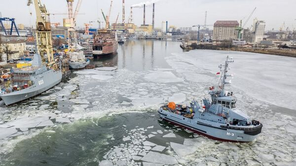 Polish Navy tug newbuilding programme almost completed