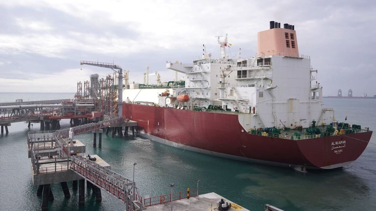 Qatargas delivered the LNG cargo aboard Q-Flex vessel Al Nuaman, loaded with 147,000 m3 of LNG (Image: Qatargas)