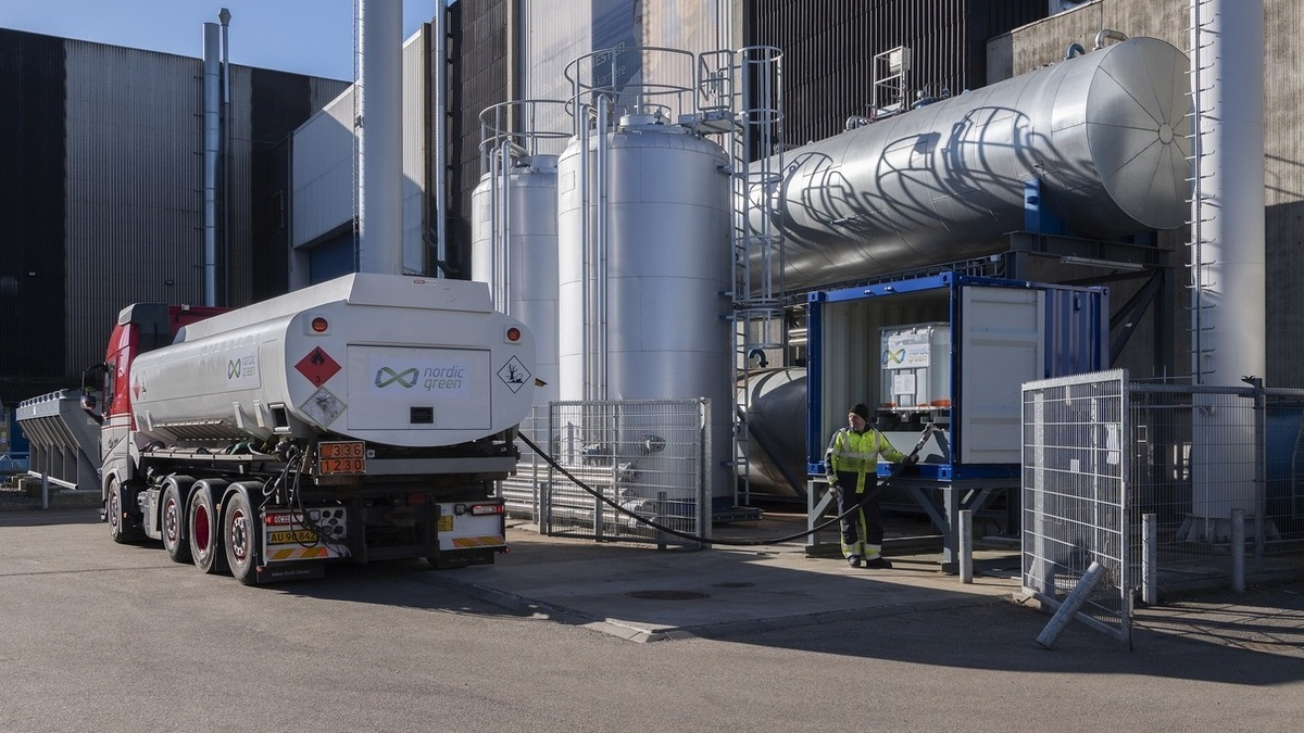 Nordic Green supplied green methanol to the Alfa Laval Test & Training Centre (Image: Alfa Laval)
