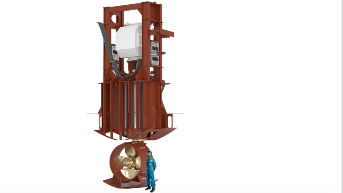 Brunvoll to supply shock-qualified azimuth thrusters for a new class of frigates