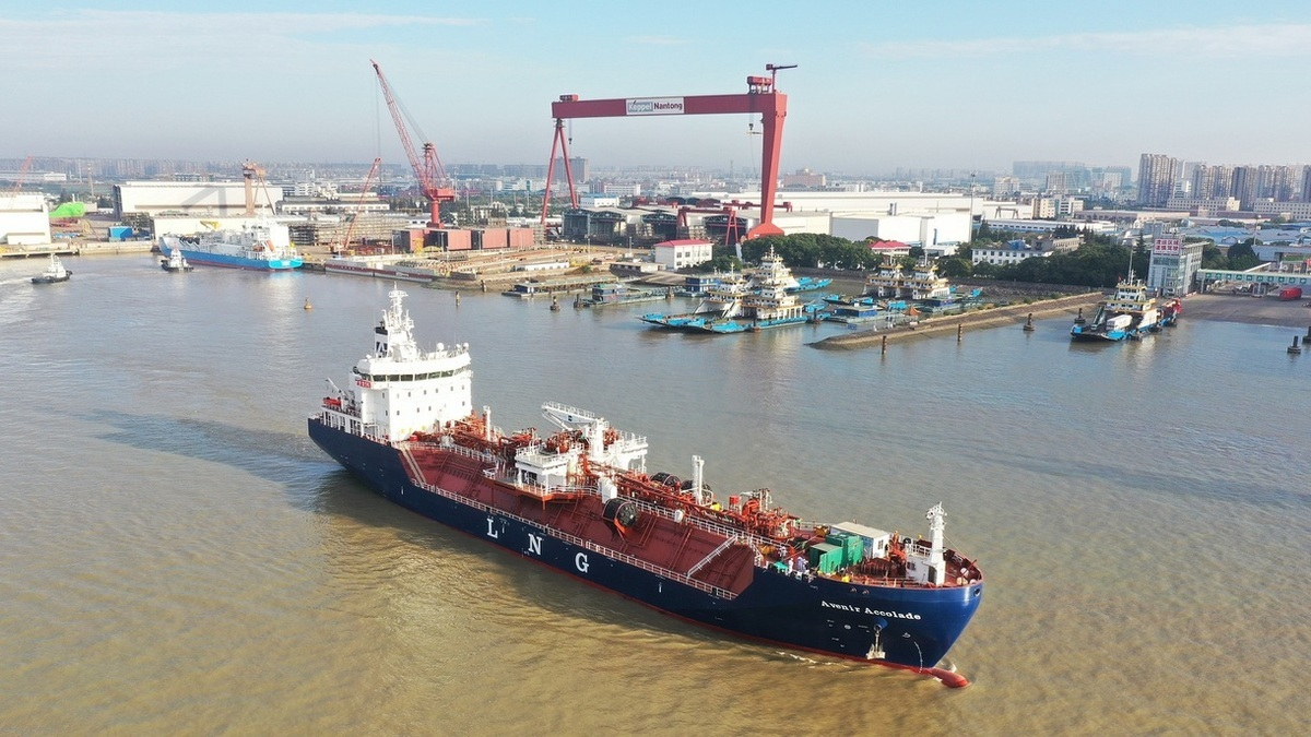 Avenir Accolade can also function as an LNG bunkering vessel (Image: Keppel O&M)